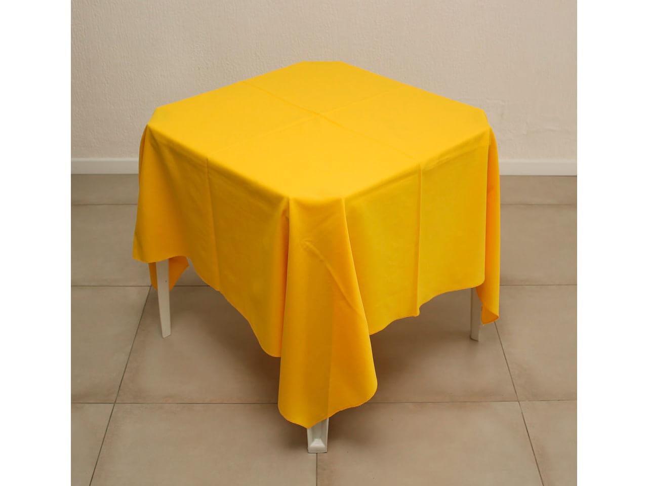 Toalha Amarela de oxford 1,5x1,5