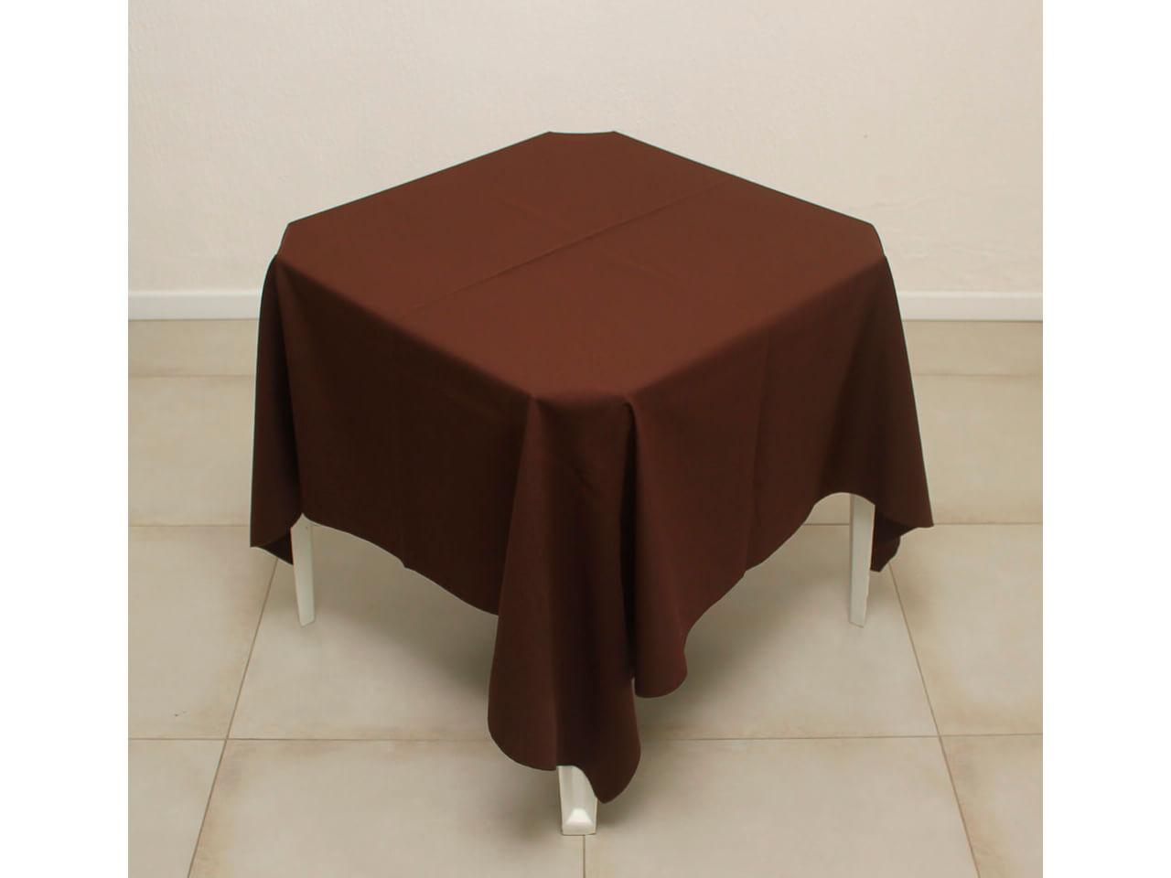 Toalha Marrom de oxford 1,5x1,5