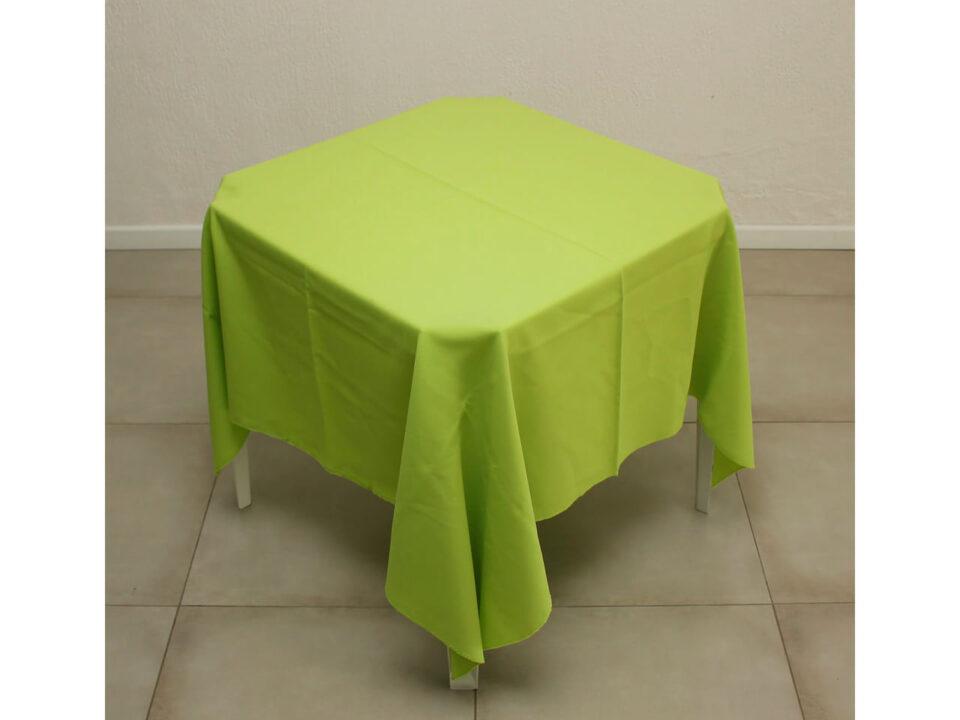 Toalha verde lima de oxford 1,5x1,5