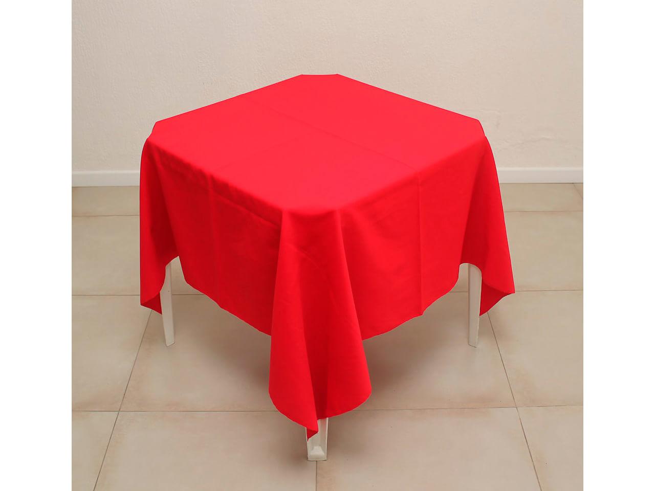 Toalha vermelha de oxford